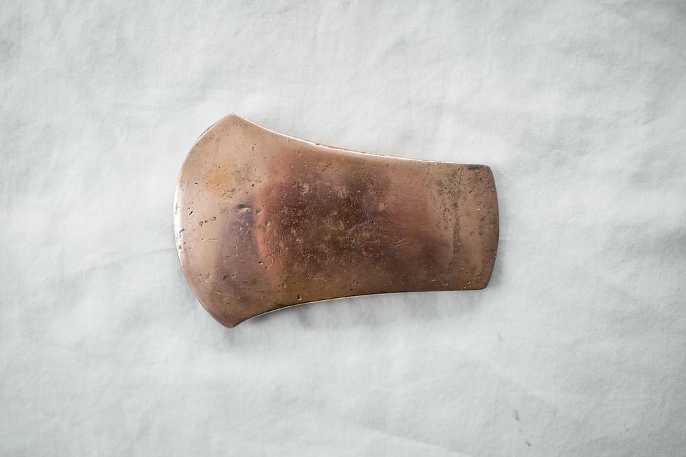 """Replica copper flat axe of type """"Ballybeg"""""""