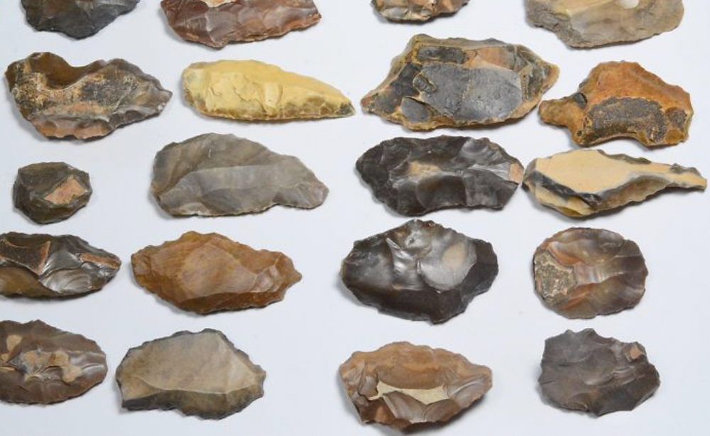 Stone Tool Replica's made from Jasper