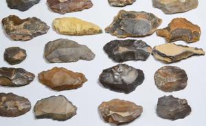 Stone Tool Replica's made from Jasper