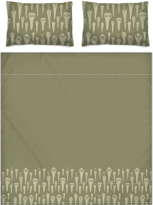 Bronze Dagger Bed Set