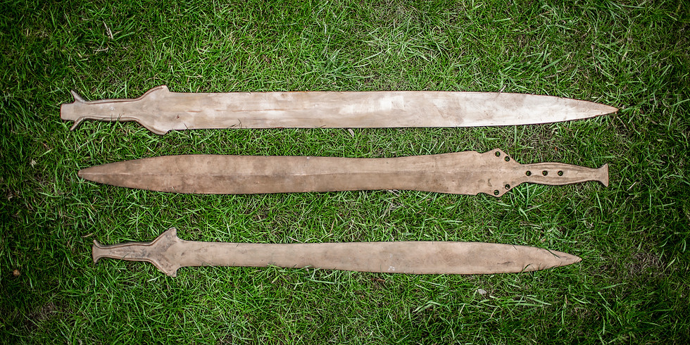 Bronze Age Sword Casting