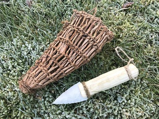 Ötzi the Iceman's Knife and Sheath
