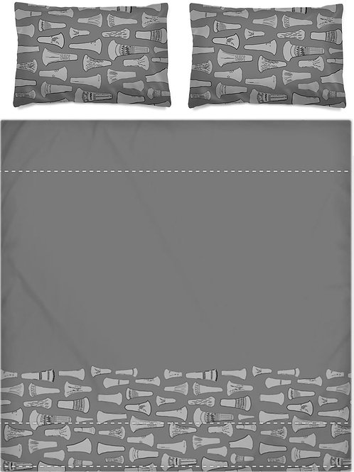 Flanged Axehead Bed Set