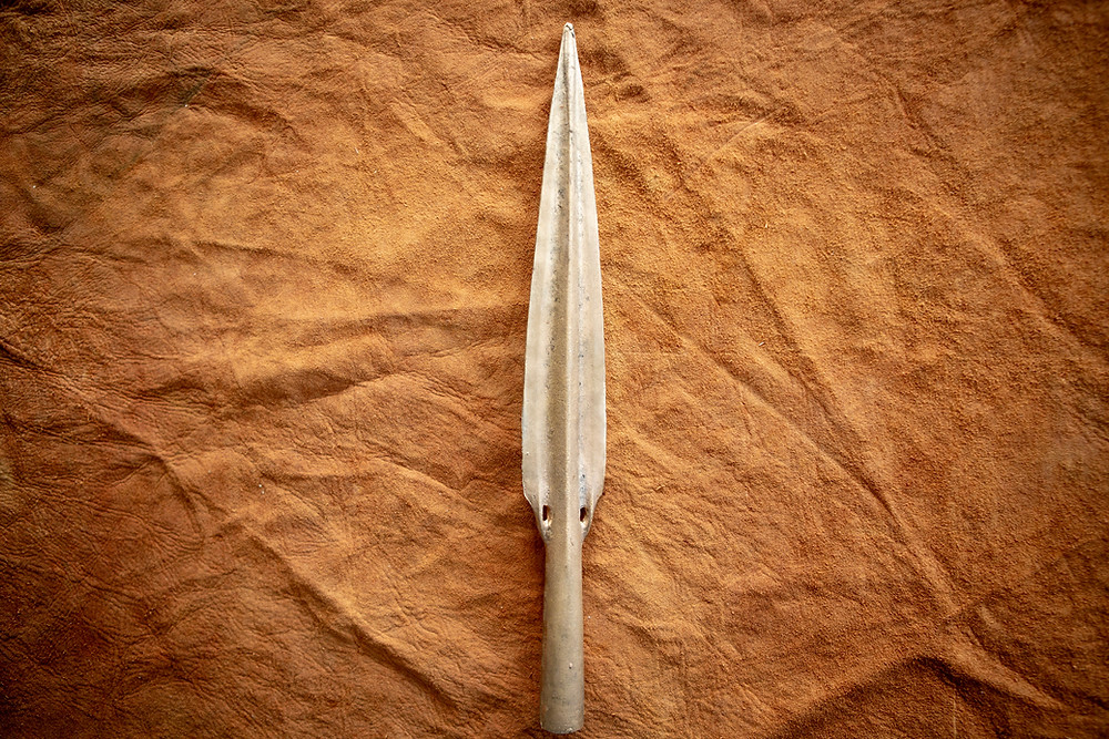 Replica of a Middle Bronze Age Basal Looped Spearhead