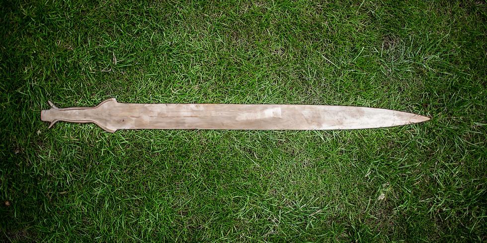 Bronze Age Sword Casting Workshop: 11th July
