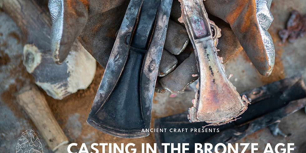 Casting in the Bronze Age - Talk by Dr James Dilley