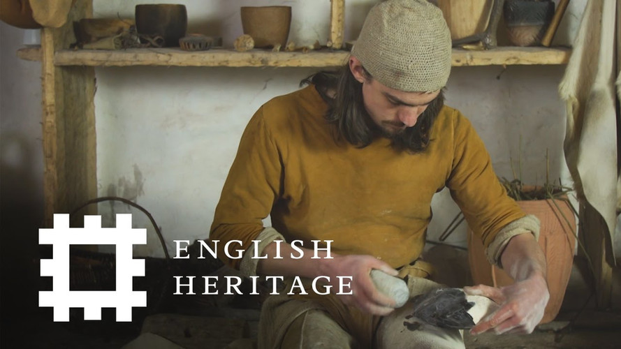 English Heritage: How To Make A Neolithic Fling Axe