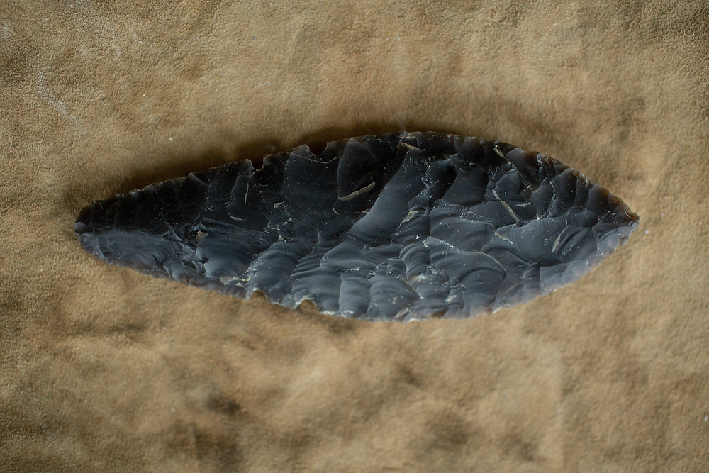 Bronze Age Flint Beaker Dagger Replica made by ©AncientCraft