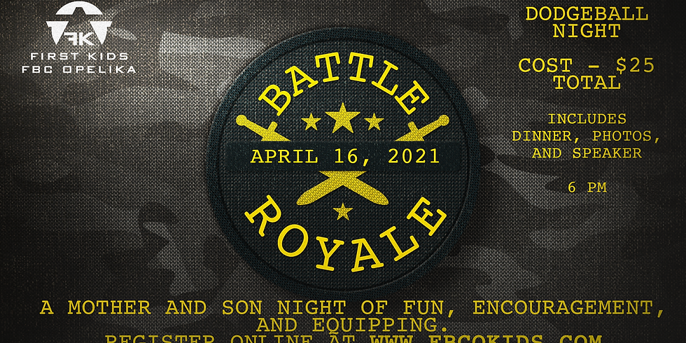 Battle Royale - A mother/son night of fun