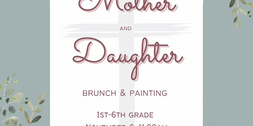 Mother/Daughter Brunch and Brushes