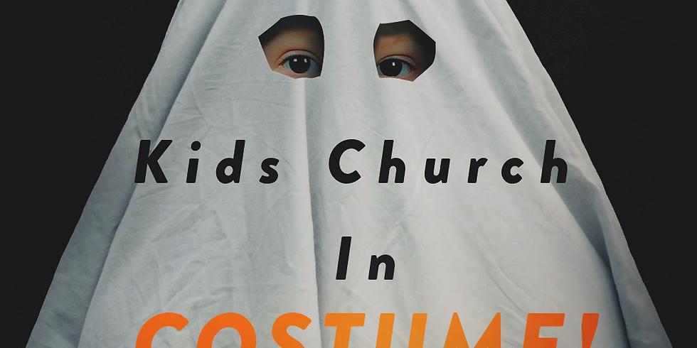 Kids Church in Costume