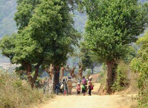 walking in Kalaw