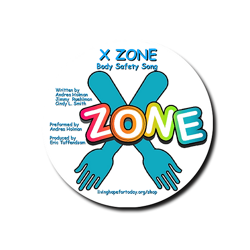 X Zone Body Safety Song, CD