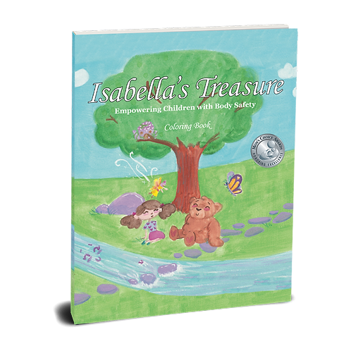 Isabella's Treasure Coloring Book