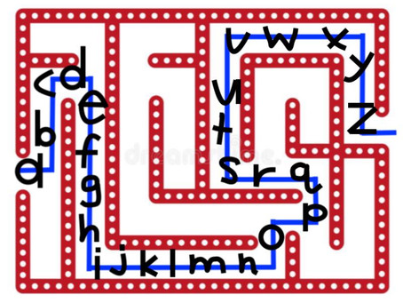 Using Mazes for Home Practice