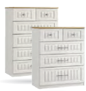 Portofino 3 + 2 Drawer Chest (3 colours)