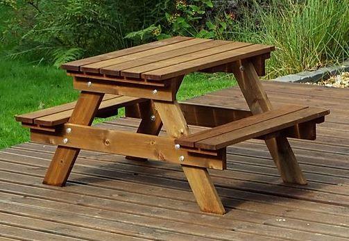 Kids Garden Furniture Picnic Table