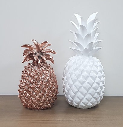 Pineapple - White or Copper