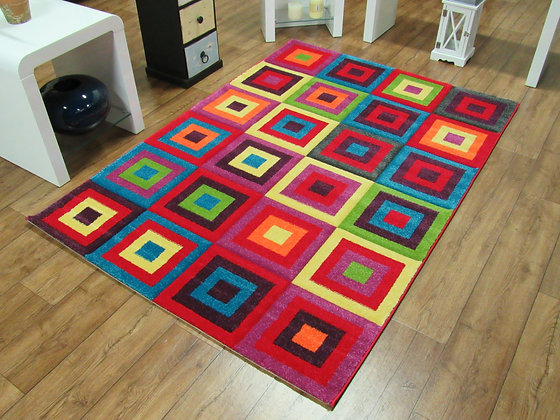 Candy Square 80 x 150 Rug