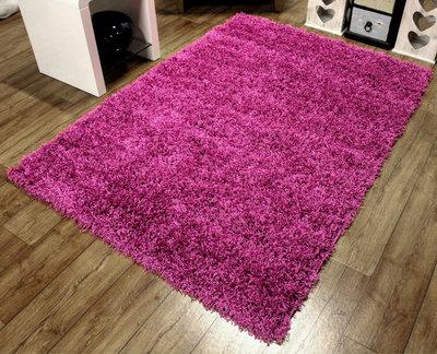 Cosy Shaggy Pink 80 x 150 Rug