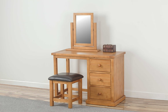 Preston Dressing Table, Stool & Mirror