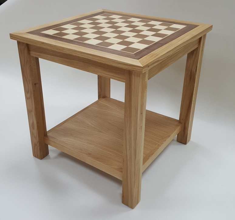 Enjoyable Chess Board Coffee Table 4Cm Squares Gmtry Best Dining Table And Chair Ideas Images Gmtryco