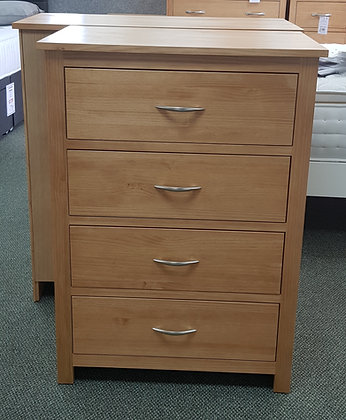 Monterey 4 Drawer Midway Chest - Choice of Colours