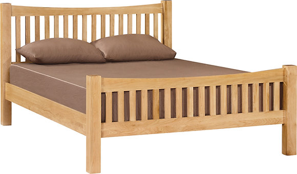 Richmond 5' Curved Bedframe