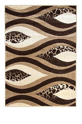 Vibe 5181B Beige Brown 80 x 150 Rug