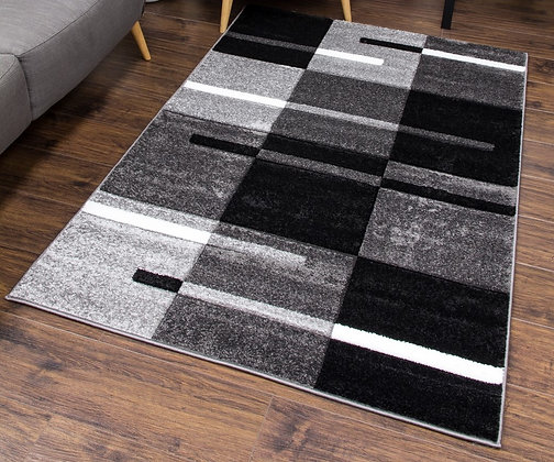 Diamond 7917 Grey White 120 x 170 Rug