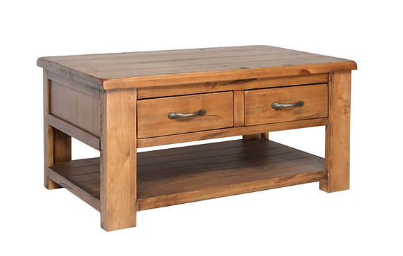 Montana Coffee Table Drawers & Shelf
