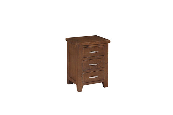 Denver 3 Drawer Bedside