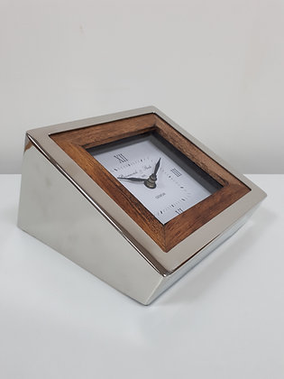 Wedge Desk Clock