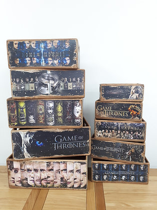 Wooden Storage Box Game of Thrones - 10 Sizes