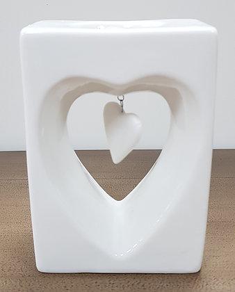 Hanging Heart Tea Light Holder