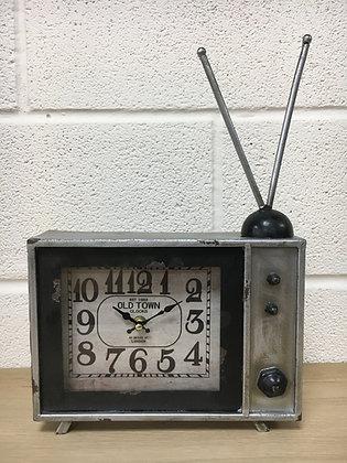 Retro Style TV Clock