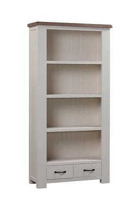 Montana Painted 6' x 3' Bookcase with Drawers