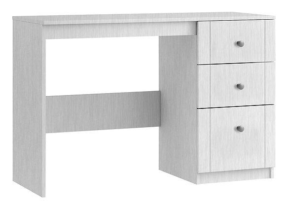 Sienna Single Dressing Table - White