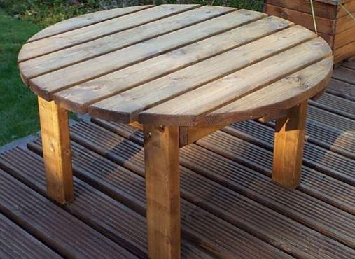 Garden Furniture Round Coffee Table