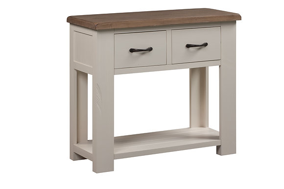 Montana Painted 2 Drawer Console Table