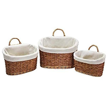 Oval Baskets - set of 3