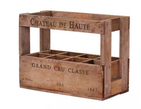 Wine Crate for 8 bottles