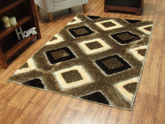 Supreme 2496 Brown / Beige 80 x 150 Rug