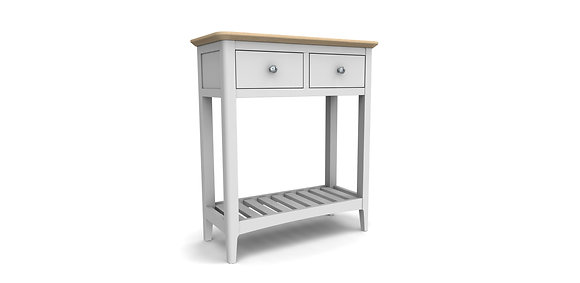 Aspen Console Table 2 Drawer - Oak or Grey