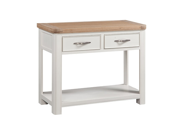 Windsor Painted 2 Drawer Console Table