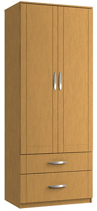 Capri Tall 2 Door 2 Drawer Gents Robe (2 colours & multiple options)