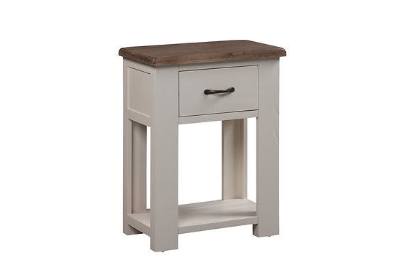 Montana Painted 1 Drawer Console Table