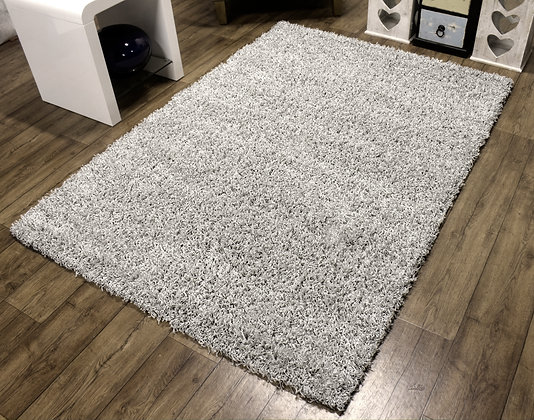Cosy Shaggy Light Grey 80 x 150 Rug