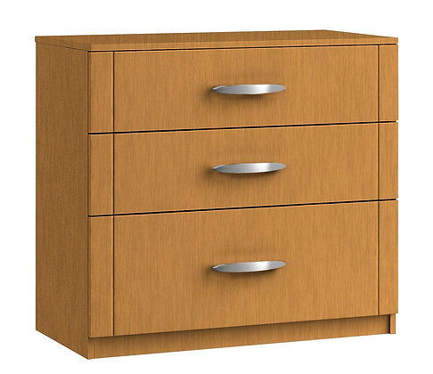 Capri 3 Drawer Chest with 1 deep drawer
