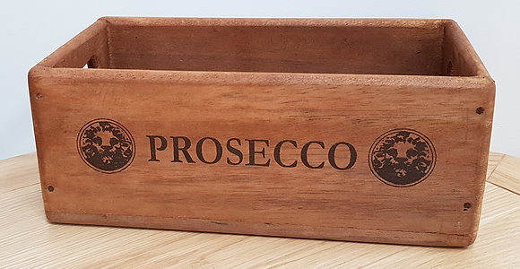 Wooden Storage Box Prosecco - 2 Sizes